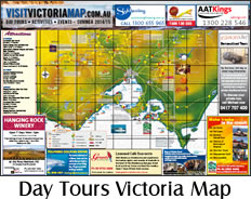 Day Tours: Victoria Map