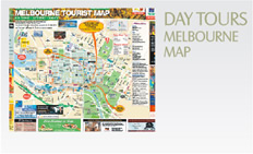 Day Tours: Melbourne Map